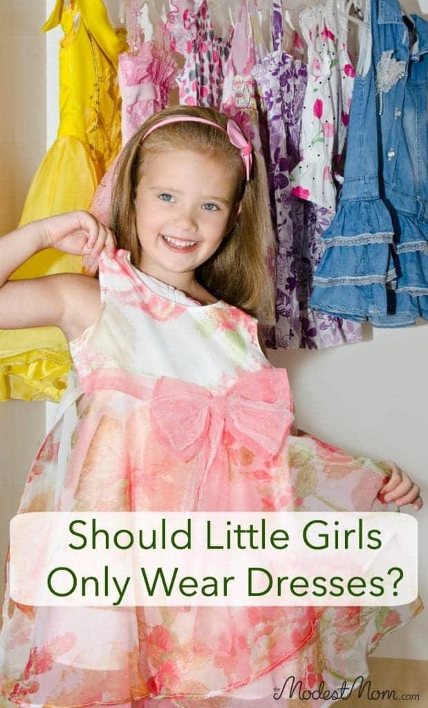Should Little Girls Only Wear Dresses?