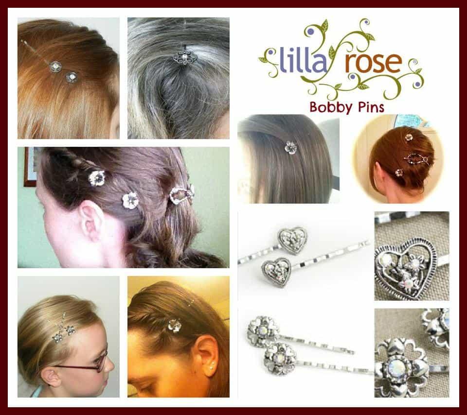 Lilla Rose Bobby Pins
