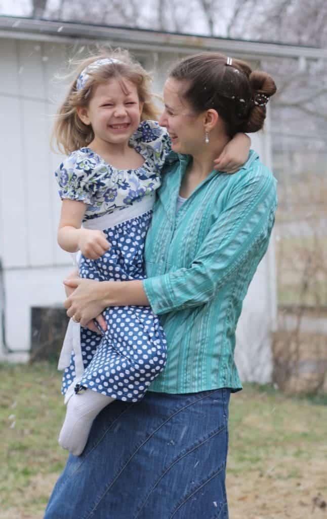 Carrianna and Mama