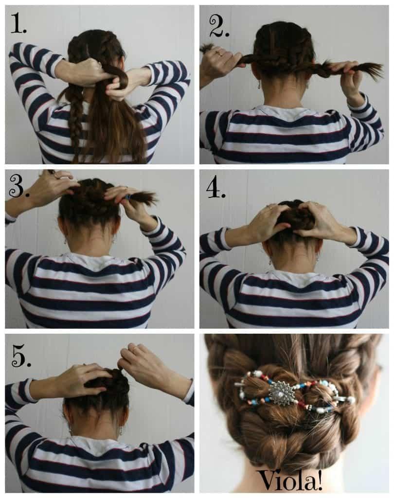 Lilla Rose Dutch Braid Hair Tutorial