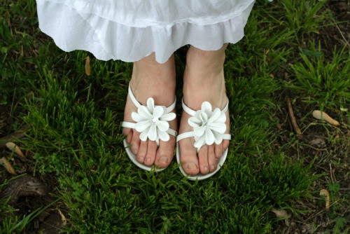 Sandalswithgreengrass
