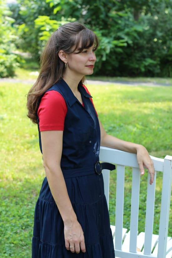Caroline during Modest Monday Photo Shoot