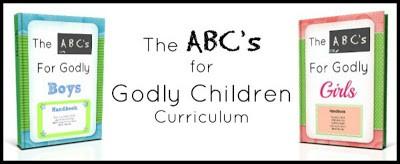 ABC's For Godly Children Banner1