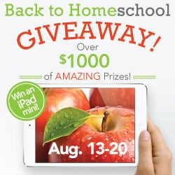 Back To Homeschool Giveaway!