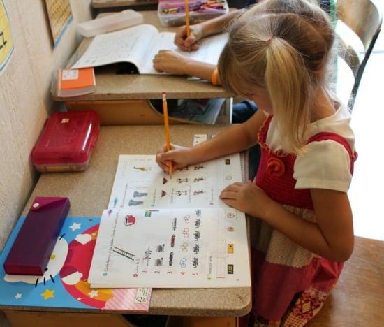 Horizon Kindergarten math