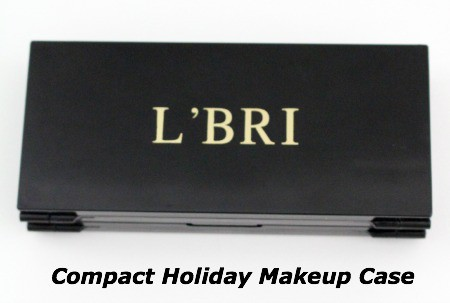 Compact Holiday Makeup Case