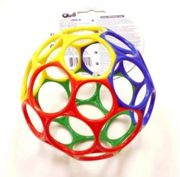 OBall - Perfect for babies and toddlers!  | themodestmomblog.com