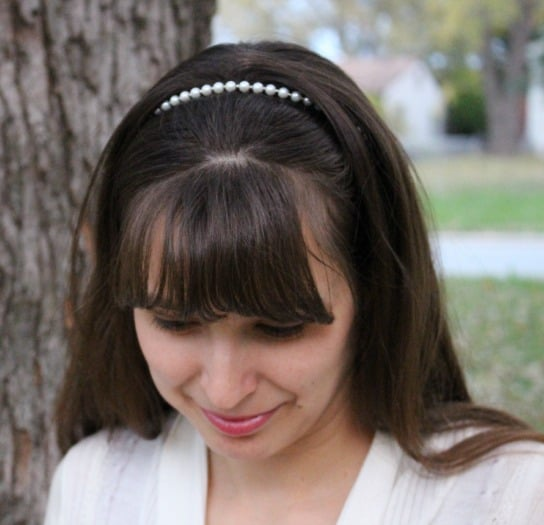 New pearl headband from Lilla Rose!