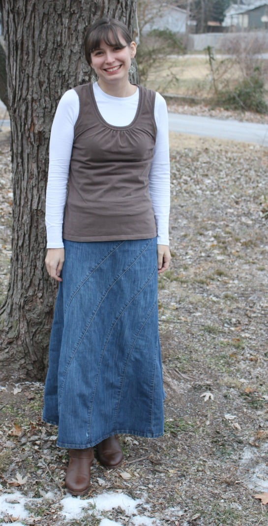 Denim-skirt-modest-monday