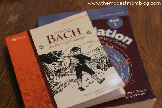 Bach Music Curriculum | themodestmomblog.com