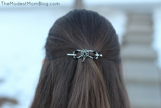 Flexi Hair Clip | themodestmomblog.com