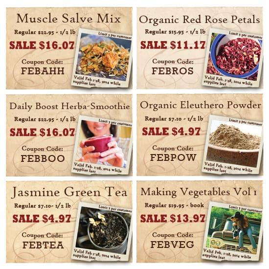 Bulk Herb Store Sales