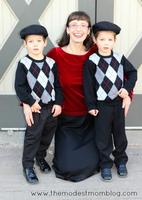A Mom with her boys given to her through adoption! | themodestmomblog.com