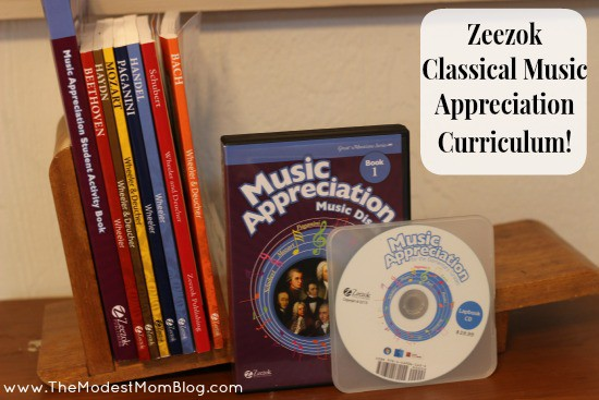 Zeezok Classical Music Curriculum For Elementary Grades Review and Giveaway! | themodestmomblog.com