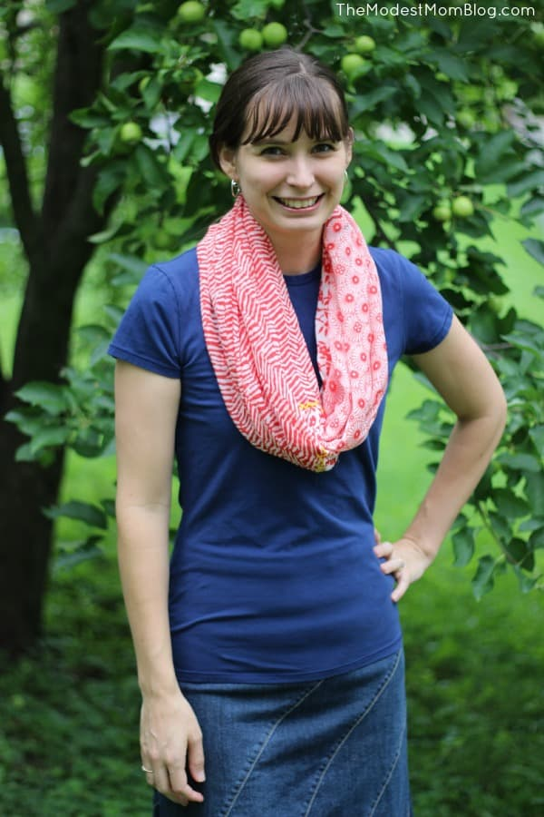 4th of July outfit that is modest and classic!