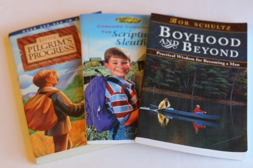 Books to help build your son's faith!
