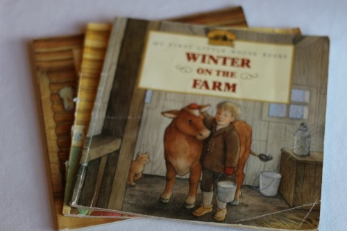 My First Little House On the Prairie Books