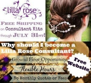 Join Lilla Rose during the free shipping enrollment special!