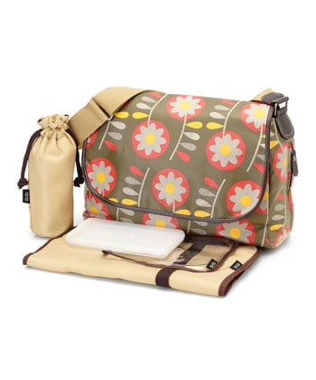 OIOI diaper bag that I got for the new baby!