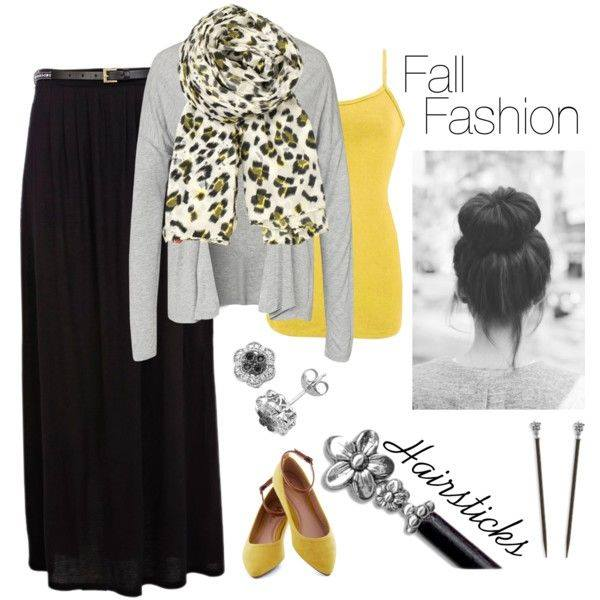 A cute Fall Fashion outfit with adorable accessories, including Lilla Rose Hairsticks!