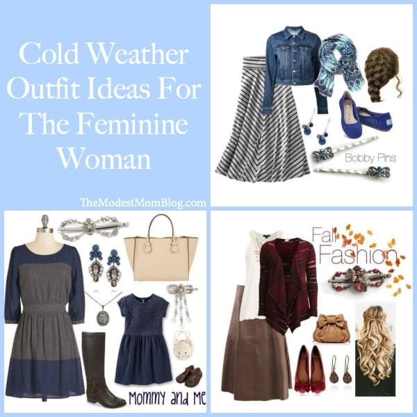 Cold Weather Outfits for the Feminine Woman!