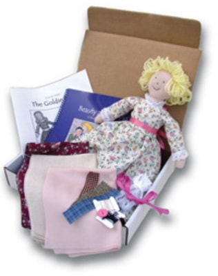 Goldie Doll, a great gift for your daughter that will give you quality time with her!
