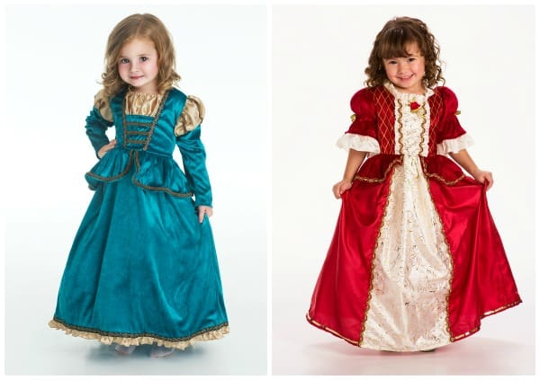 Brand new princess dresses at Deborah and Co! Scottish Princess and Winter Beauty.