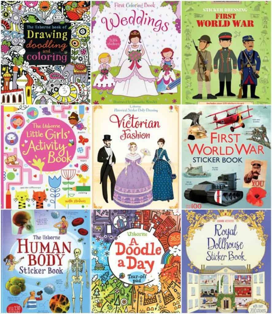 Usborne books has so many excellent activity books for children!