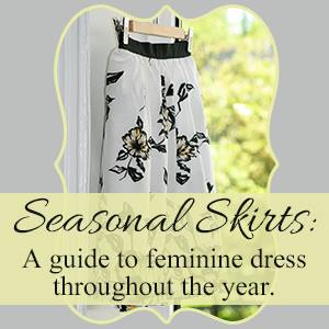 Seasonal Skirts Winter Blog Hop