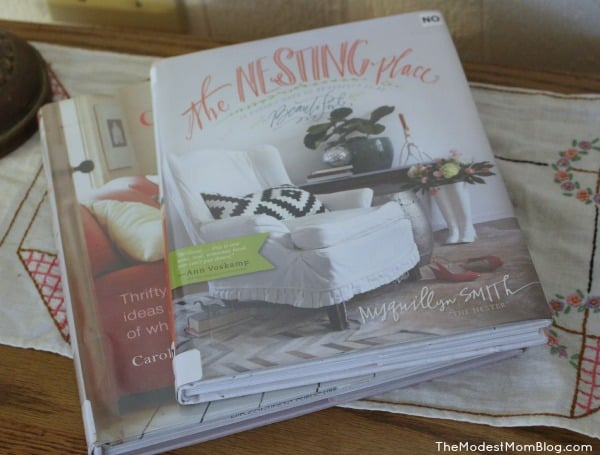 The Nesting Place Book.  I literally cried and laughed while reading this book.