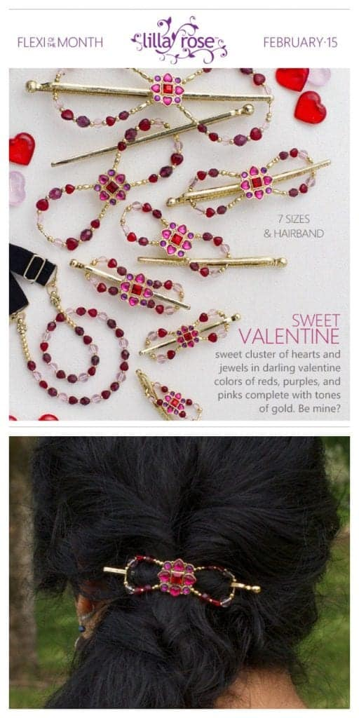 Sweet Valentine Flexi Clip for February!