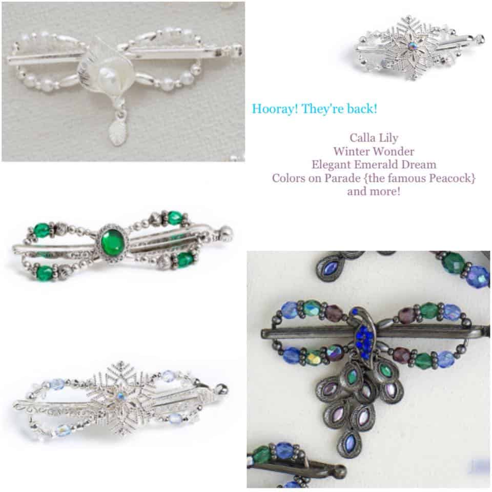 New Flexi Clips Just Brought Back from Lilla Rose!