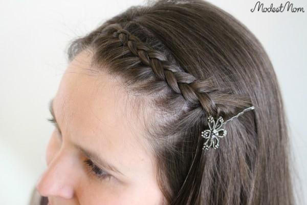 Dutch Braid Hairstyle