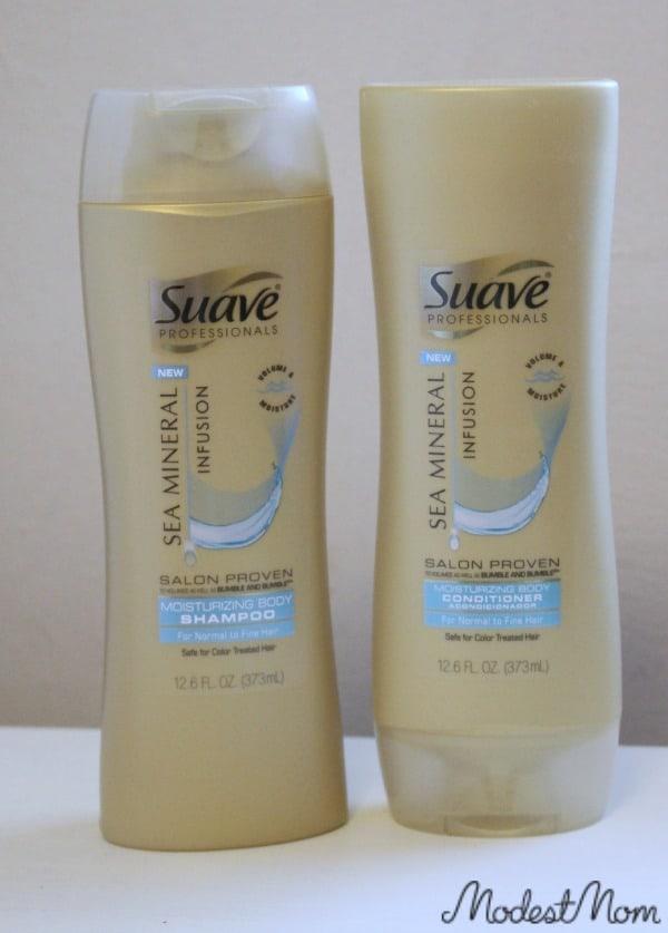 Suave Pro Sea Mineral Infusion Shampoo  #BeautyByMe #ad