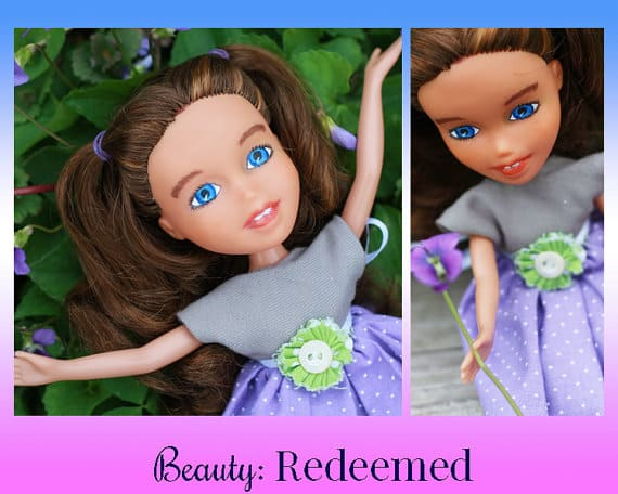 Enter to win a Beauty Redeemed doll!