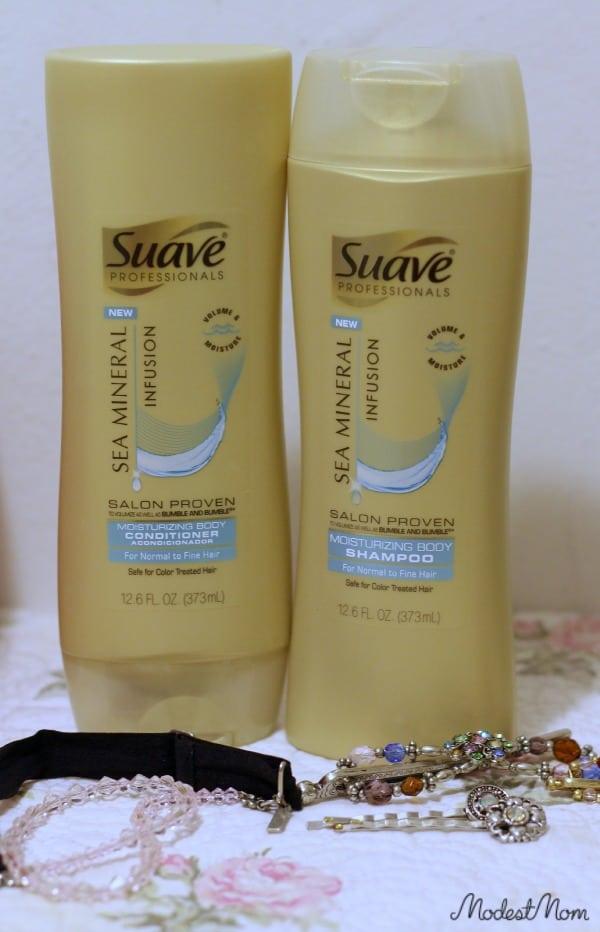 Suave Shampoo and Conditioner!