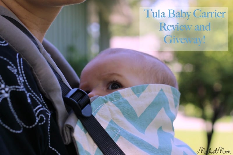 Tula Baby Carrier Review and Giveaway!