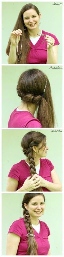 A twisted side braid tutorial. Add a little extra touch to a regular braid and make an amazing everyday hairstyle!