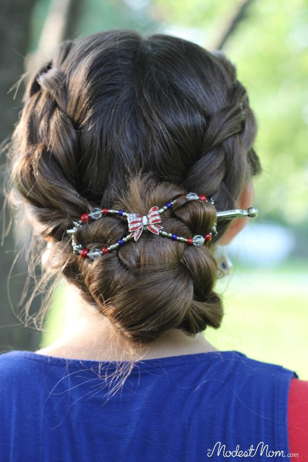 Liberty Bow flexi clip from LIlla Rose