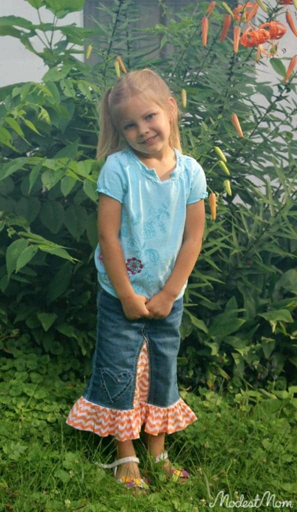 Denim Skirt from Skirted Blues Etsy store!