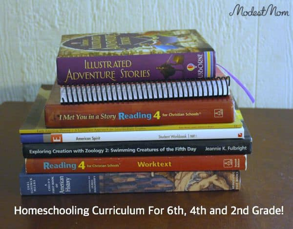 Our Homeschool Curriculum For 2015 2016