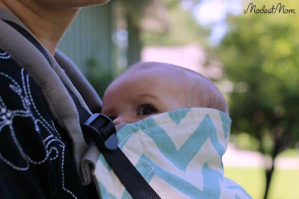 The Tula Baby Carrier is my favorite baby carrier ever! I love how comfortable it is to hold my baby in it!