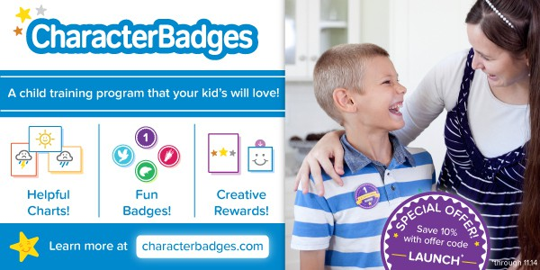 Character Badges is a fun and flexible child training system for children ages 5-12!