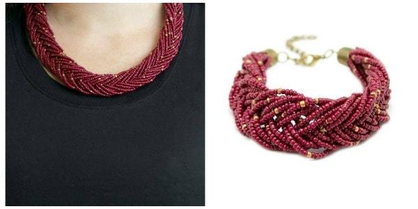 Paparazzi necklace and bracelet