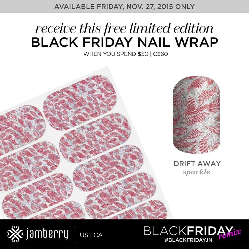 Purchase $50 in Jamberry products and receive this free special edition sheet of wraps!