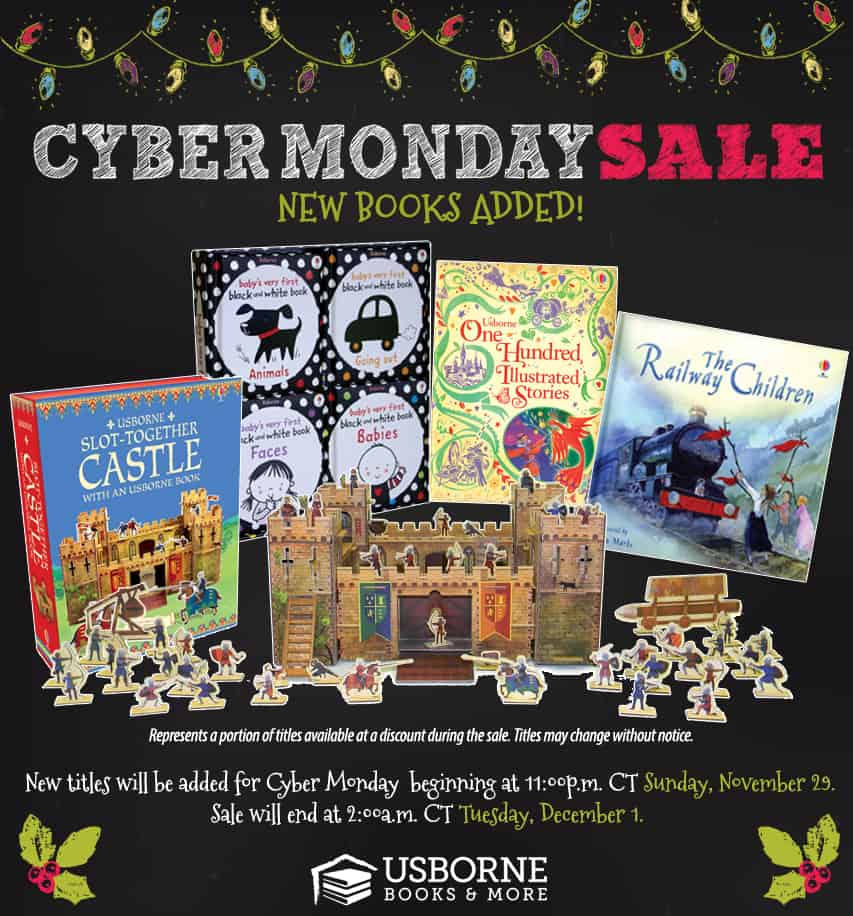 Cyber Monday sale with Usborne