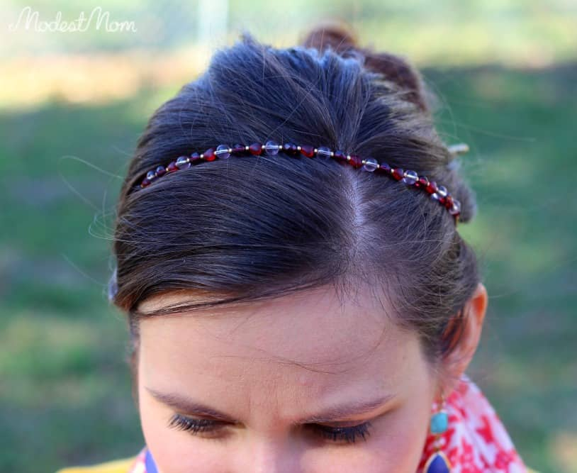 Headband from Lilla Rose