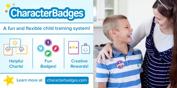 Character Badges is a creative child training program