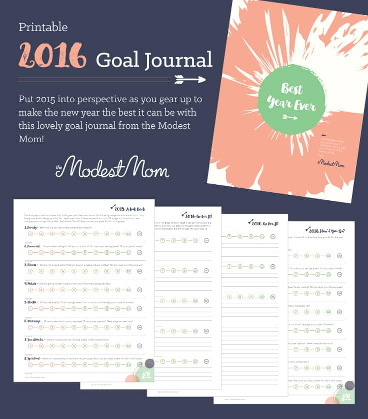 Free Goal Planning Printables For 2016