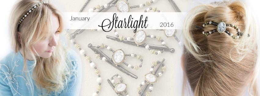 Starlight Lilla Rose Flexi Clip and Headband for January!
